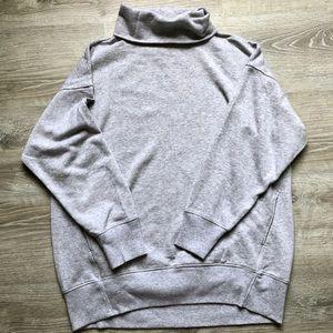 Oversize Turtleneck Sweatshirt with Pocketssss!